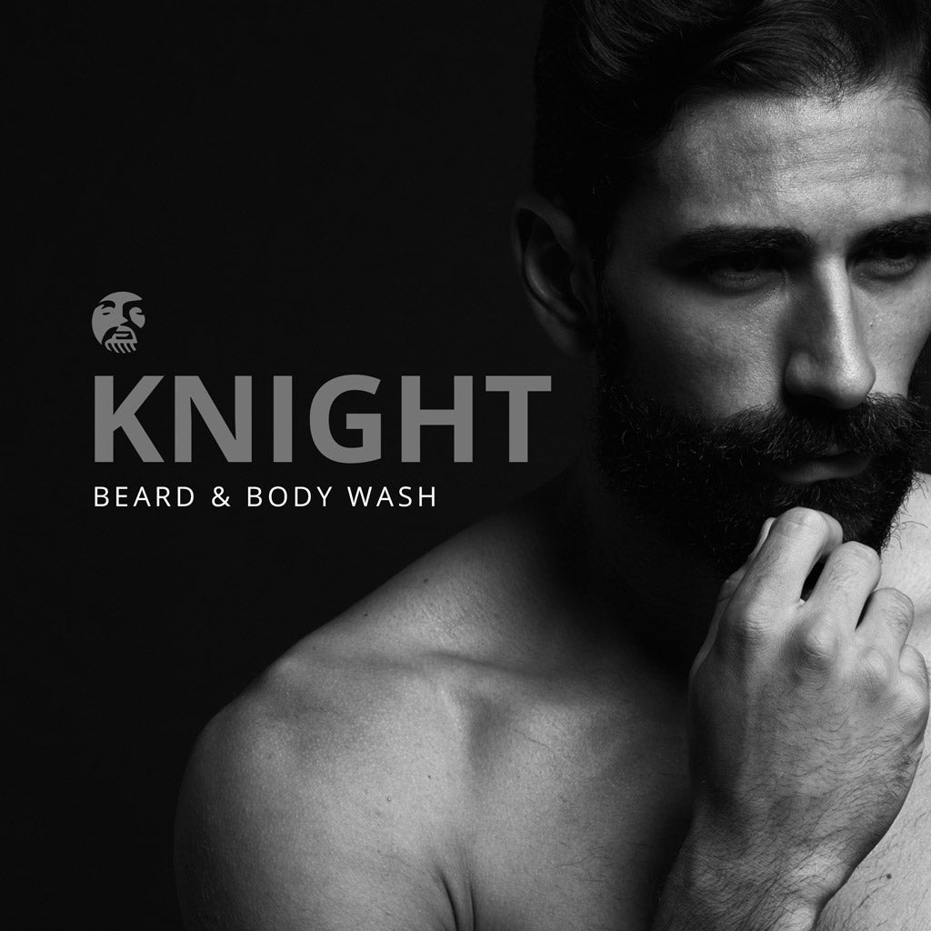 Beard & Body Wash - Knight - BEARD KING - 2
