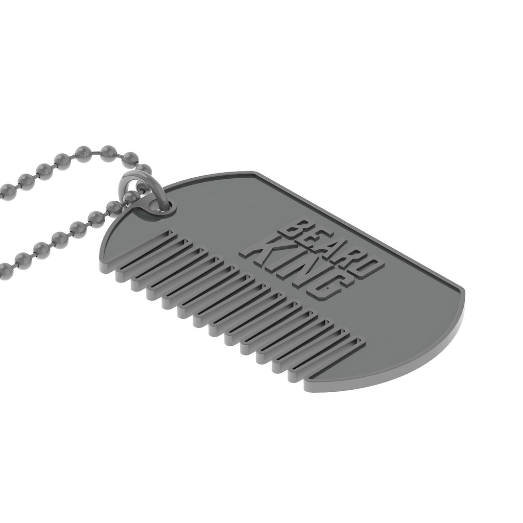 King Comb Dog Tag