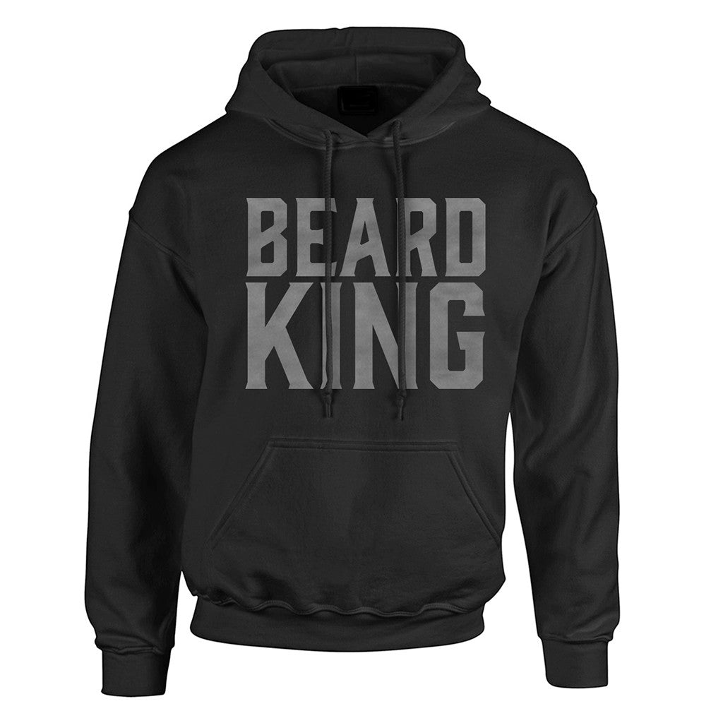King Hoodie Black - BEARD KING - 1
