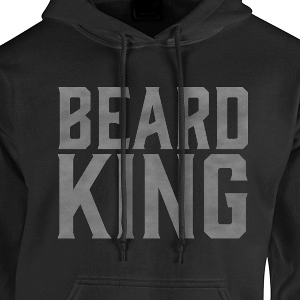 King Hoodie Black - BEARD KING - 3