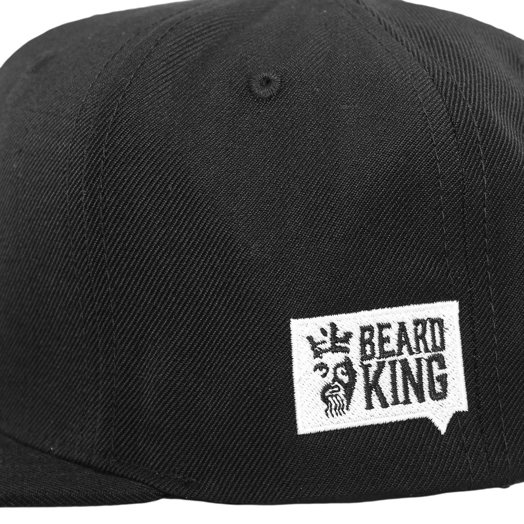 No Shave Cap Black - BEARD KING - 4