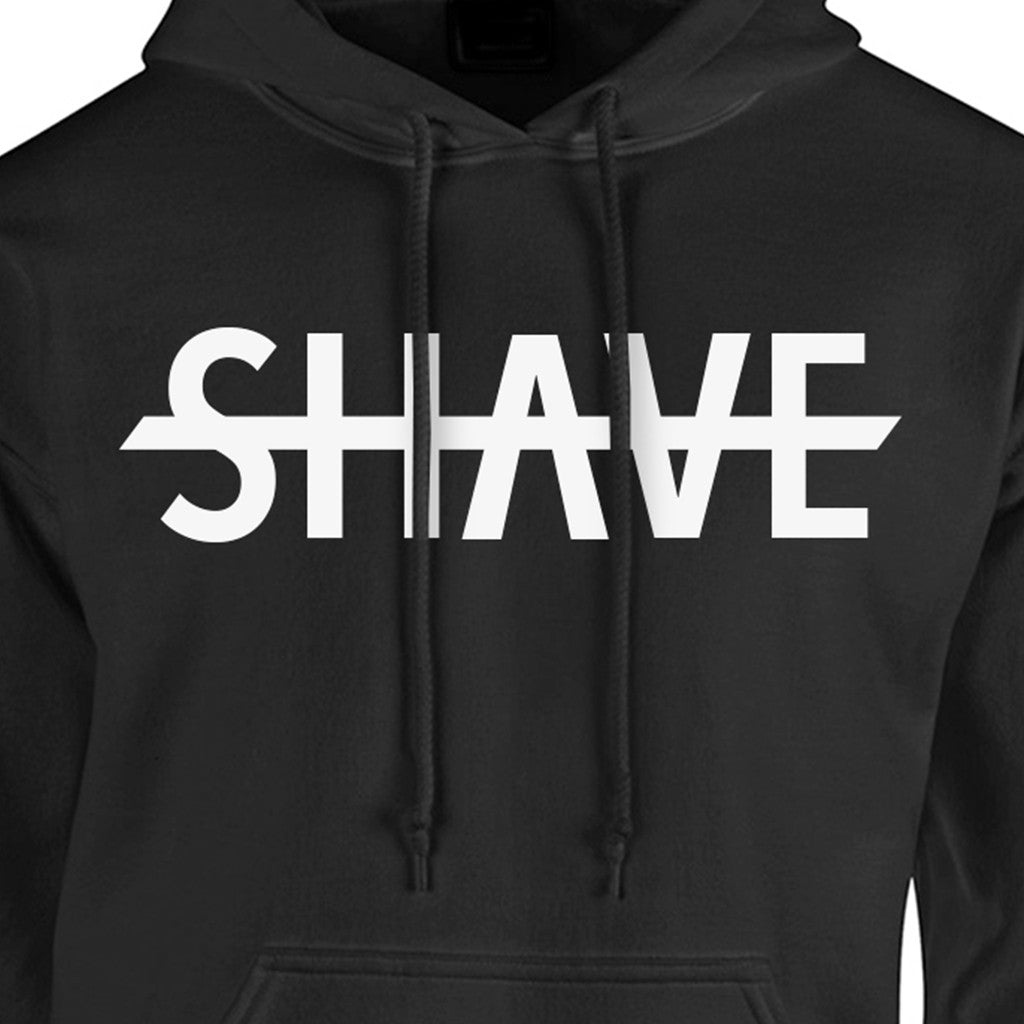 No Shave Hoodie Black - BEARD KING - 3