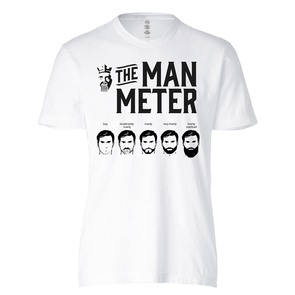 The Man Meter - BEARD KING - 1