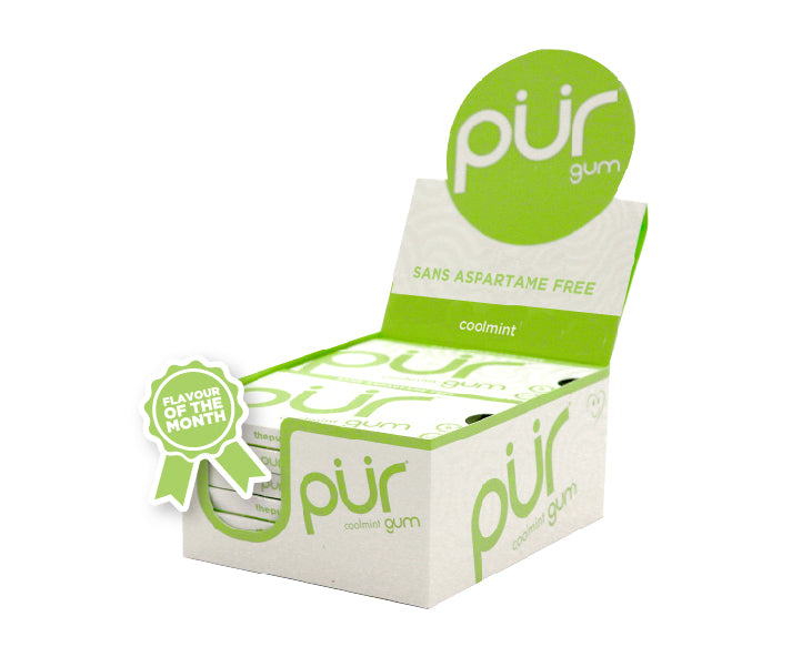 12 Pack Gum Trays - Sweet Value! - The PUR Company
