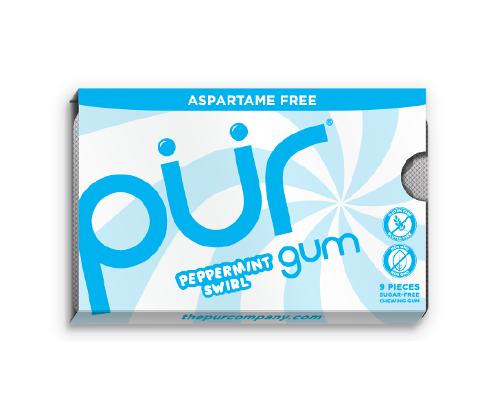 Peppermint Swirl 12 Pack Gum Tray