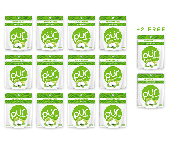 Buy 12 Mint Pouches, Get 2 FREE (280 Pieces)
