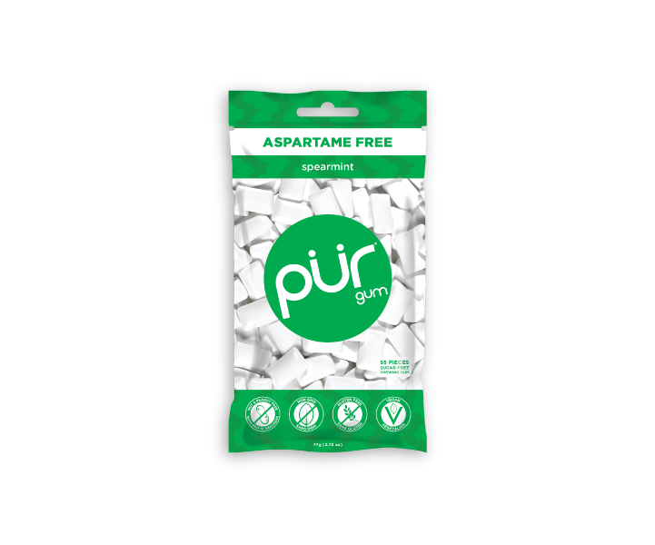 Single Resealable Gum Bags (55 Pieces)
