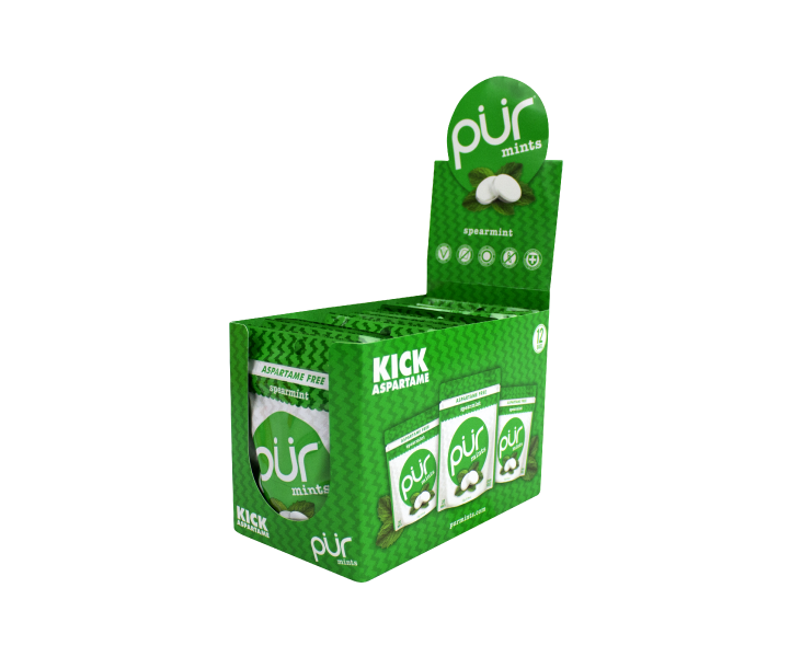 12 Pouch Mint Trays - Available in 5 Refreshing Flavours! - The PUR Company