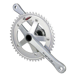 SUGINO DD75/ZEN HOLLOWTECH CHAINSET BLACK/SILVER