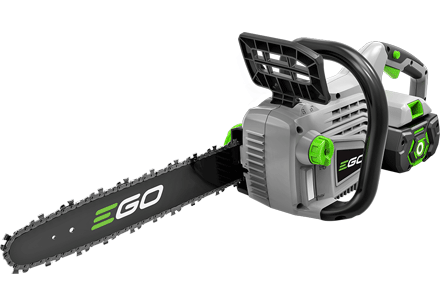 POWER + 56V Lithium-Ion 40cm Cordless Chain Saw