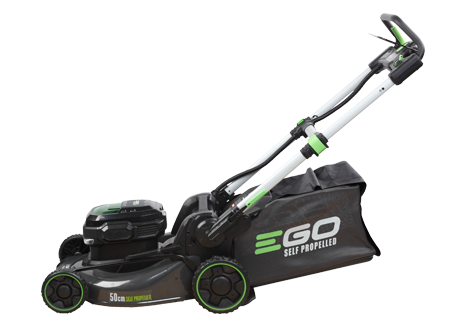 POWER + 50cm Steel Deck Self Propelled Lawn Mower