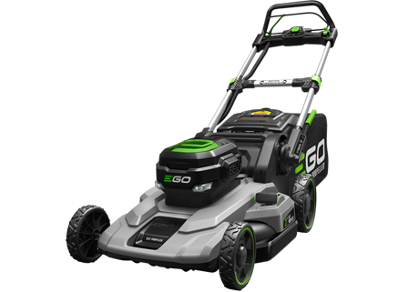 POWER + 52cm Self Propelled Lawn Mower
