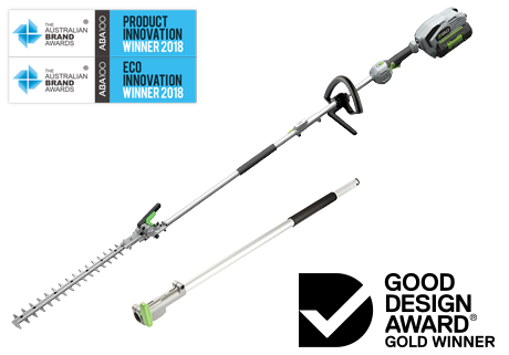 POWER + Multi-Tool Pole Hedge Trimmer Kit