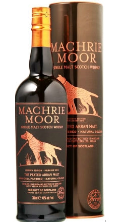 Whisky Arran Machrie Moor Single Malt The Peated  Non-Chill Filtered