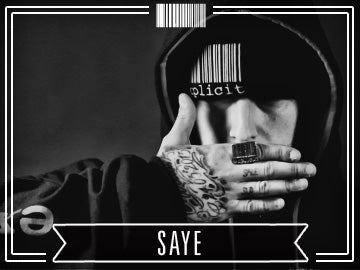 SAYE sale sud rap hip hop