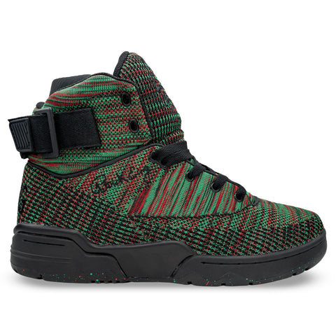Soulier Patrick Ewing 33 HI Black/Green/Red BLACK HISTORY MONTH