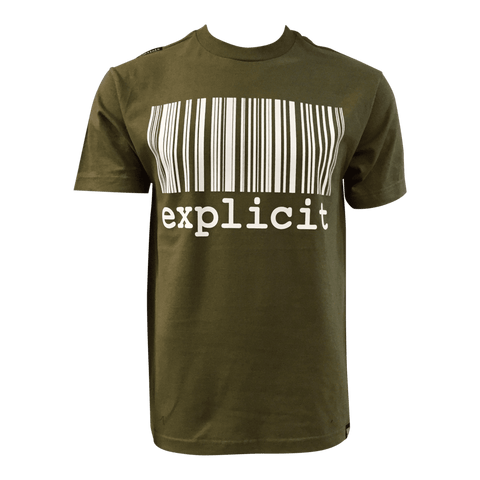 T-shirt explicit Kakhi
