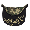 Casquette army & gold