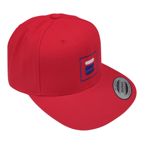 Casquette Bootleg rouge