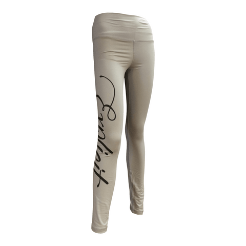 Leggings signature gris