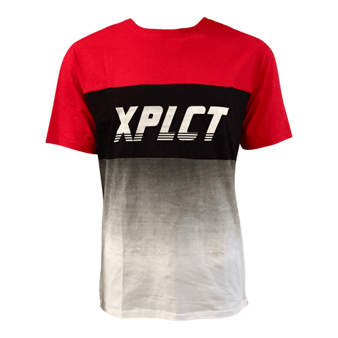 T-shirt XPLCT Trendy rouge