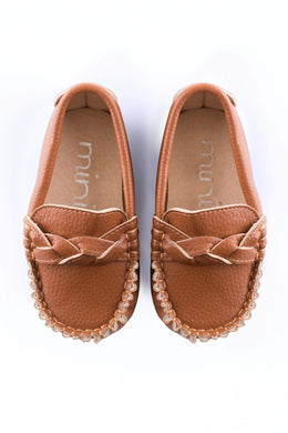 Swirl Loafer - Brown