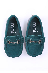 Mateo Loafer Genuine Suede Calf Leather - Green