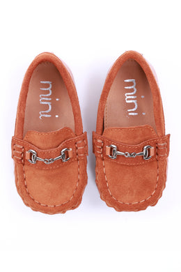 Mateo Loafer Genuine Suede Calf Leather - Brown