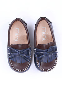 Enzo Loafer - Blue/Coffee