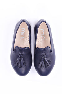 Ollie Blue Loafer Slipper (Boy)