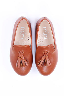 Ollie Brown Loafer Slipper (Boy)