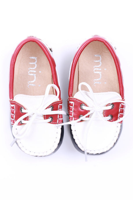 Boat Shoes - Red