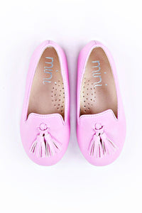 Ollie Pink Loafer Slipper (Girl)
