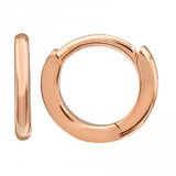 14k gold 8mm huggies - SINGLE