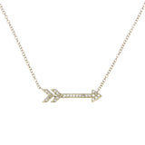 14k Gold Arrow Necklace