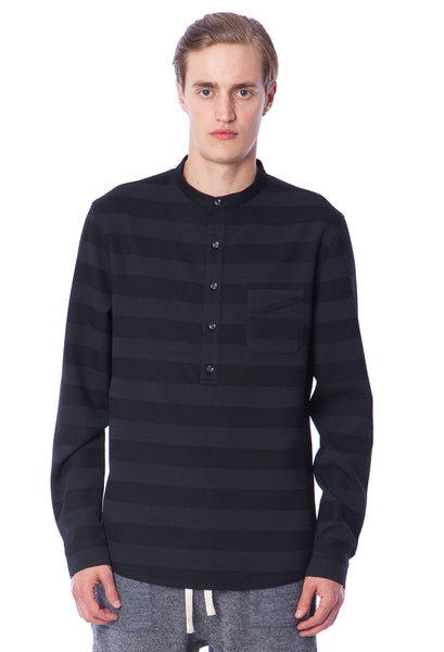 BRENNON - SHIRT - BLACK