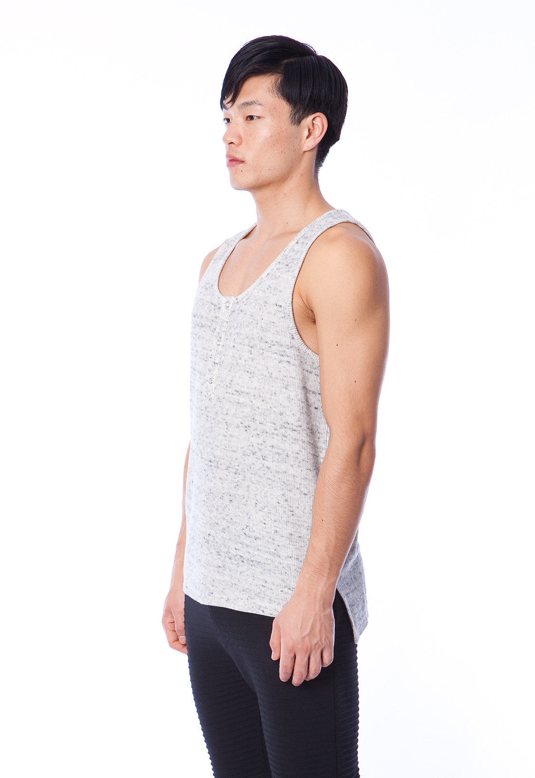 SLOAN - TANK TOP - HEATHER GREY