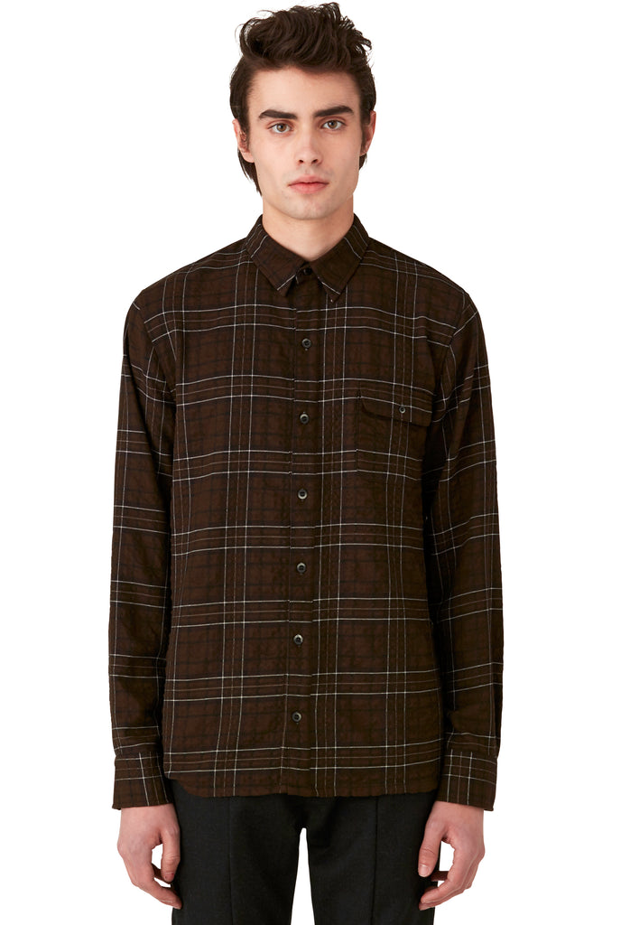 CASWELL - SHIRT - BROWN