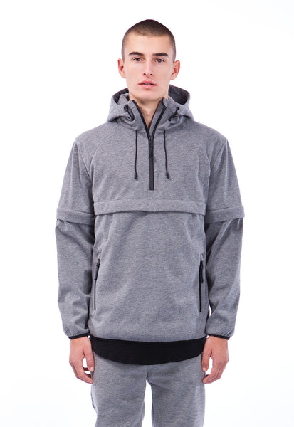 ELLIS - ANORAK - GREY