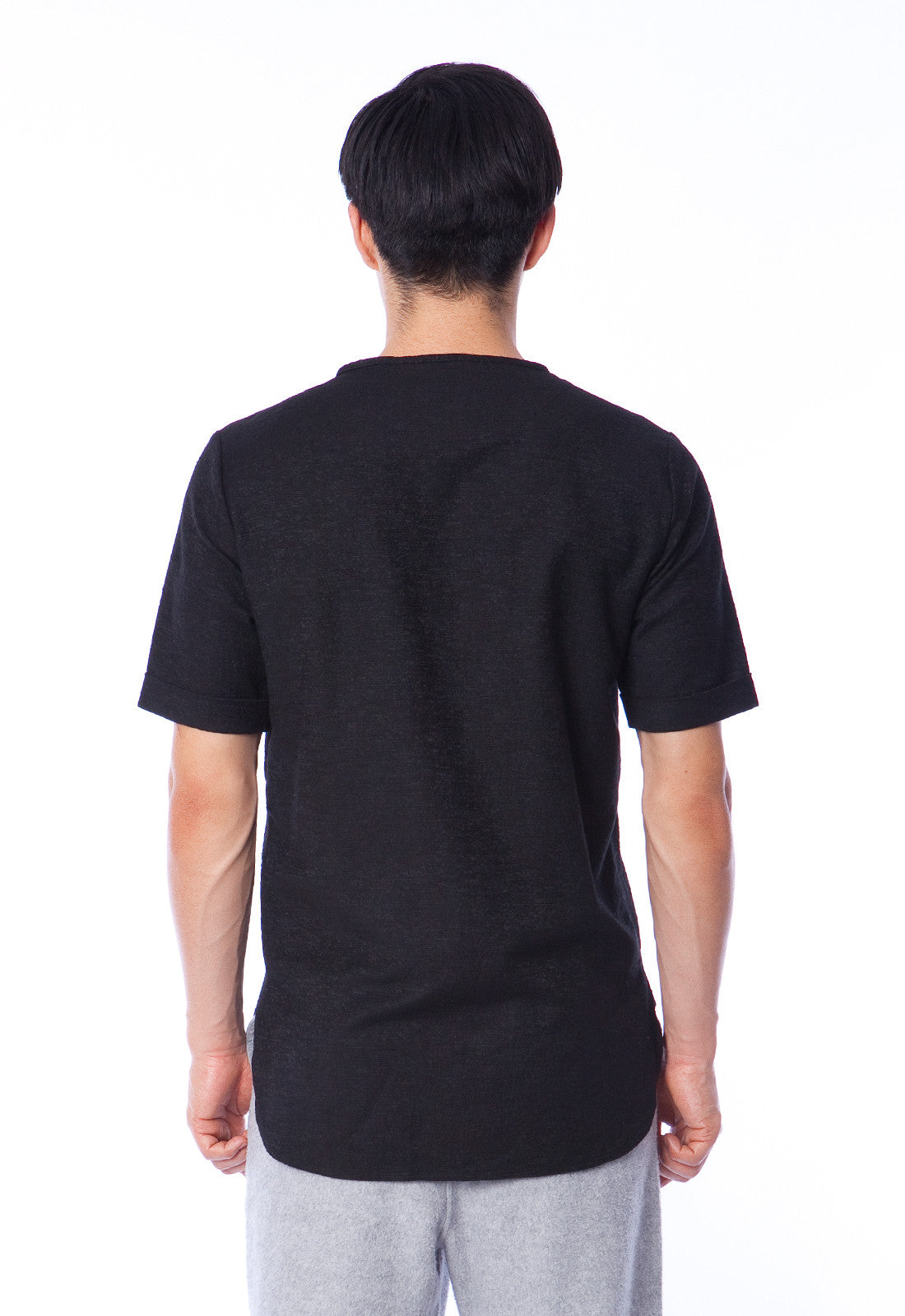 MAAS - SHIRT - BLACK