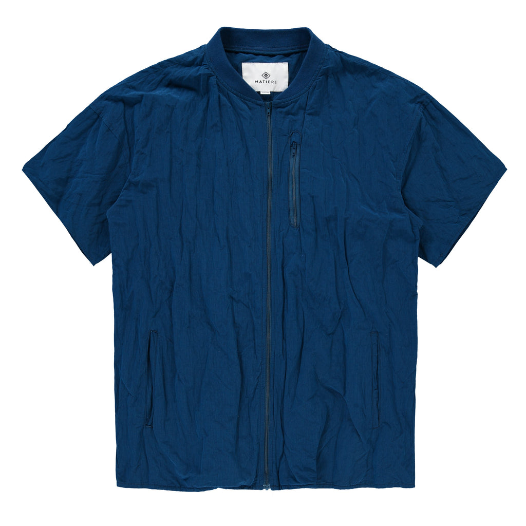 COLBY -ZIP TECH SHIRT - POSEIDON