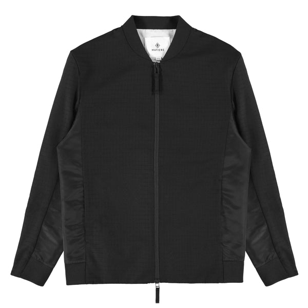 BENSON - JACKET - TRUE BLACK
