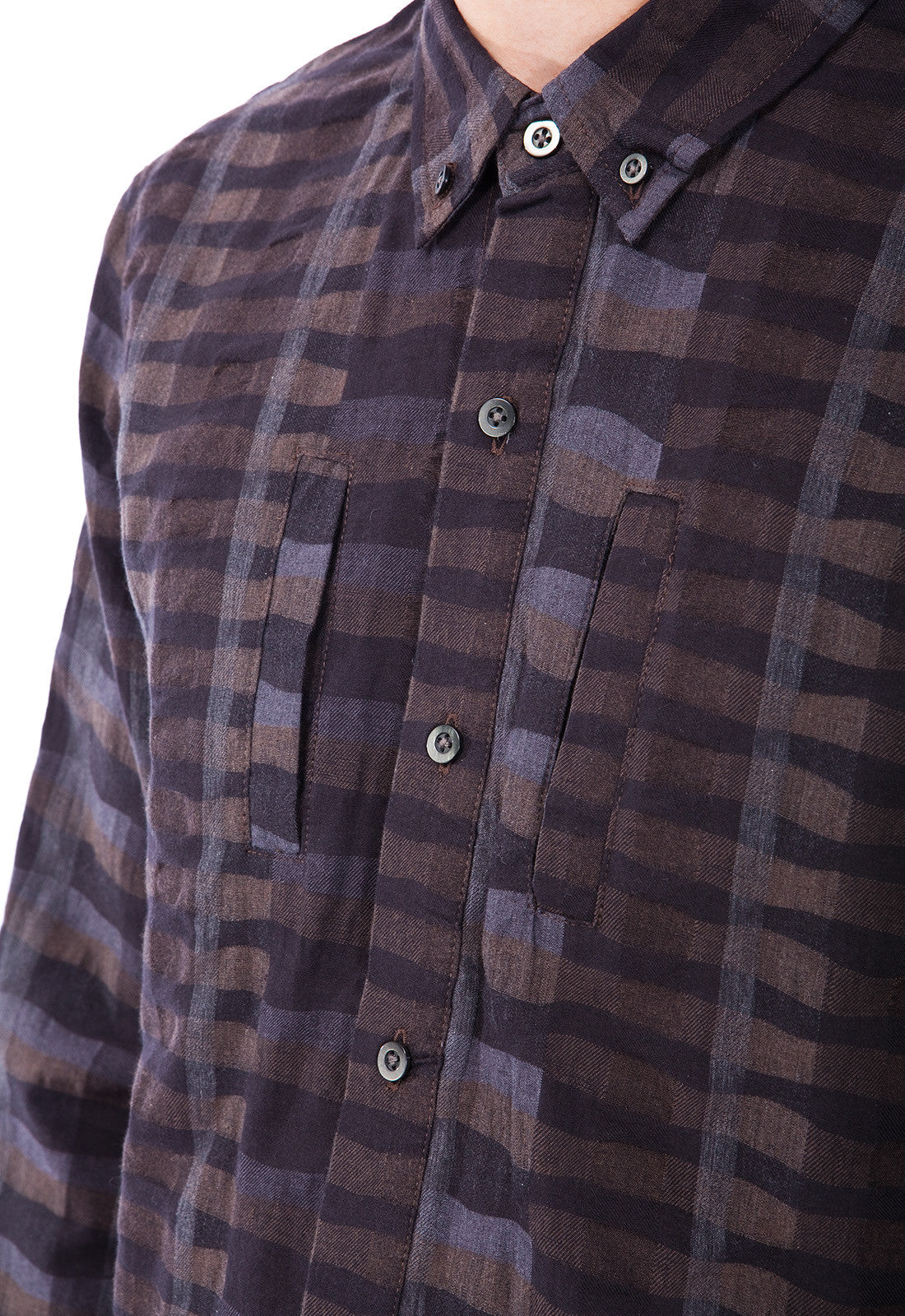 PAYTON - SHIRT - BROWN