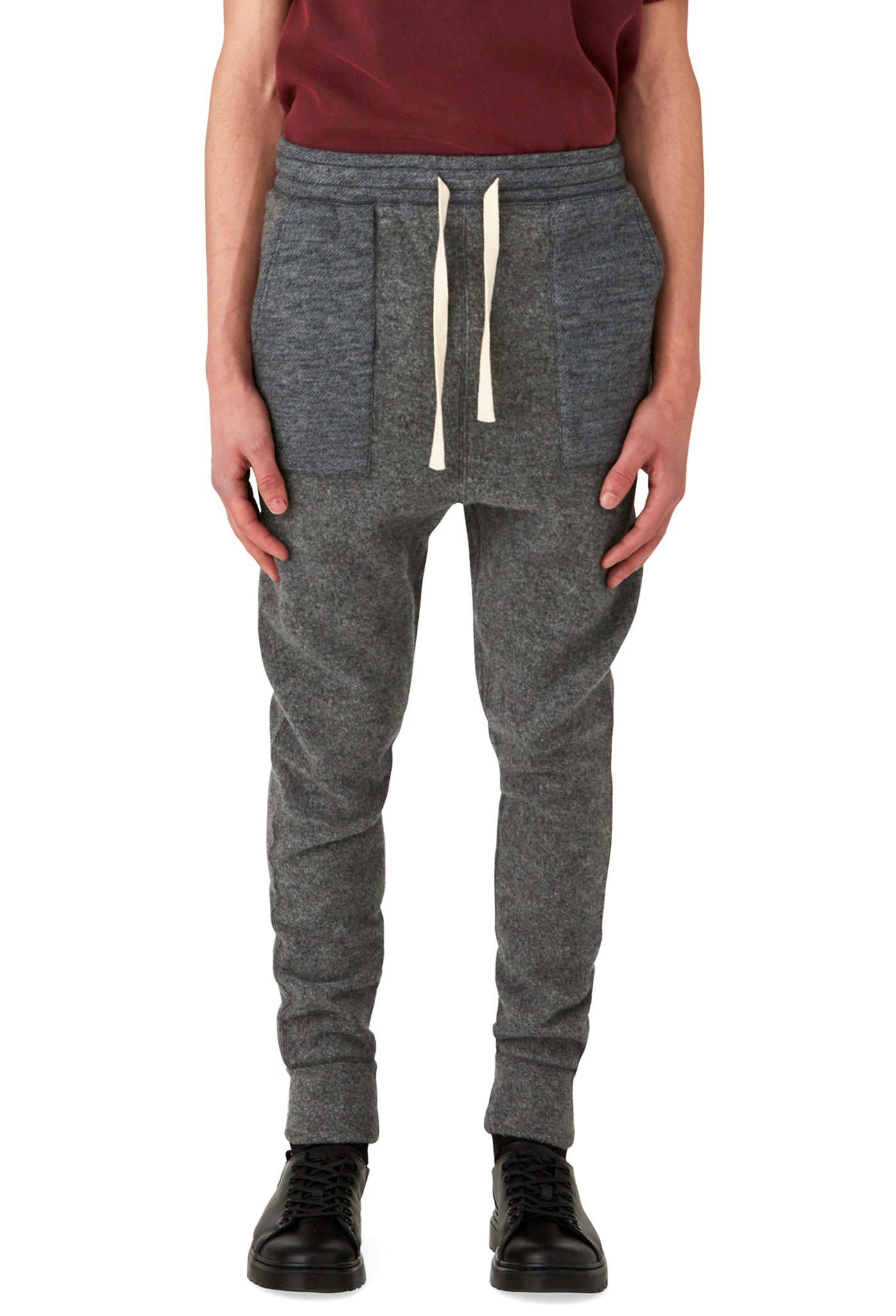 ROCKINGHAM - PANT - HEATHER GREY