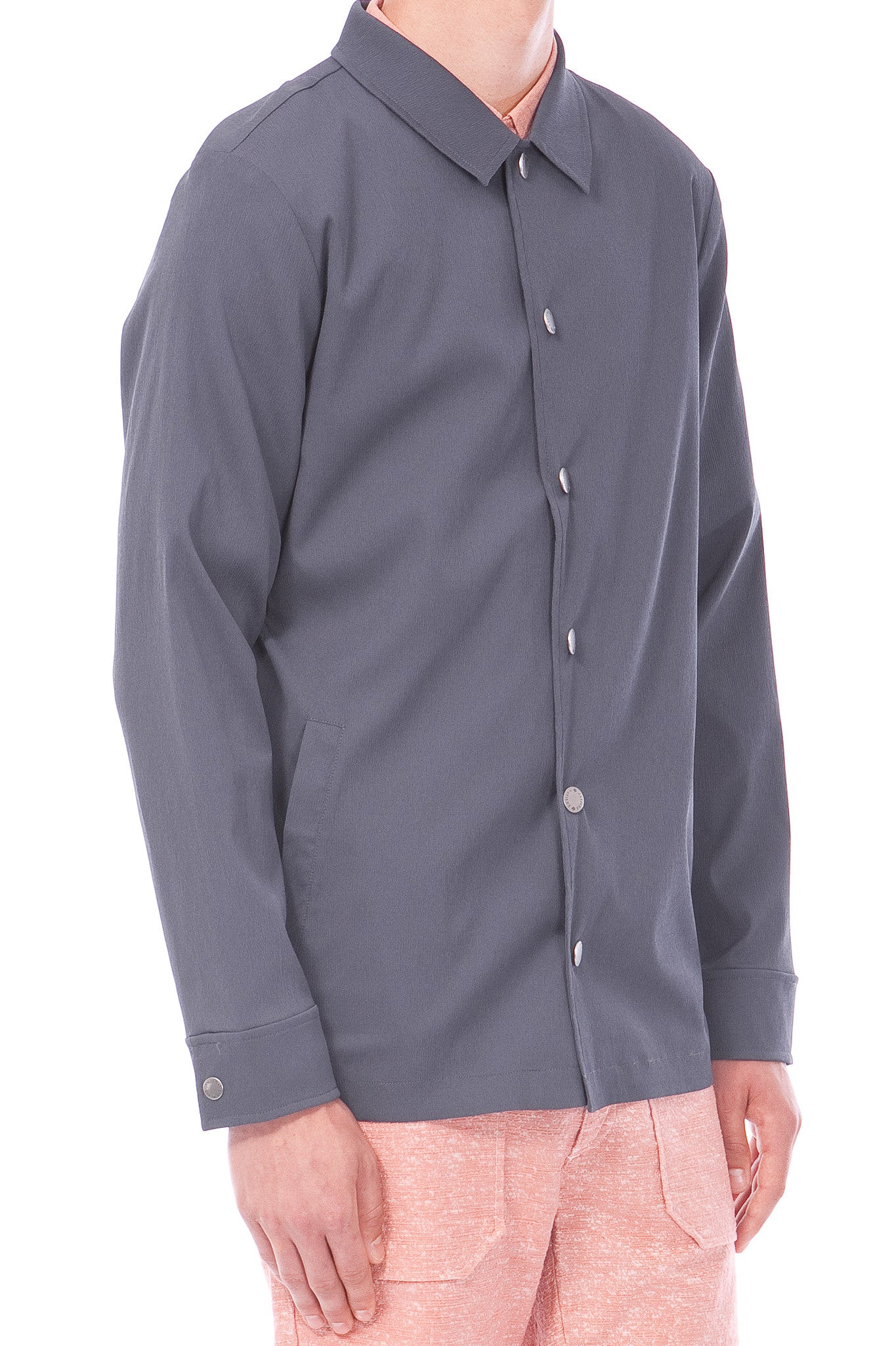 SHAFER - JACKET - OMBRE BLUE