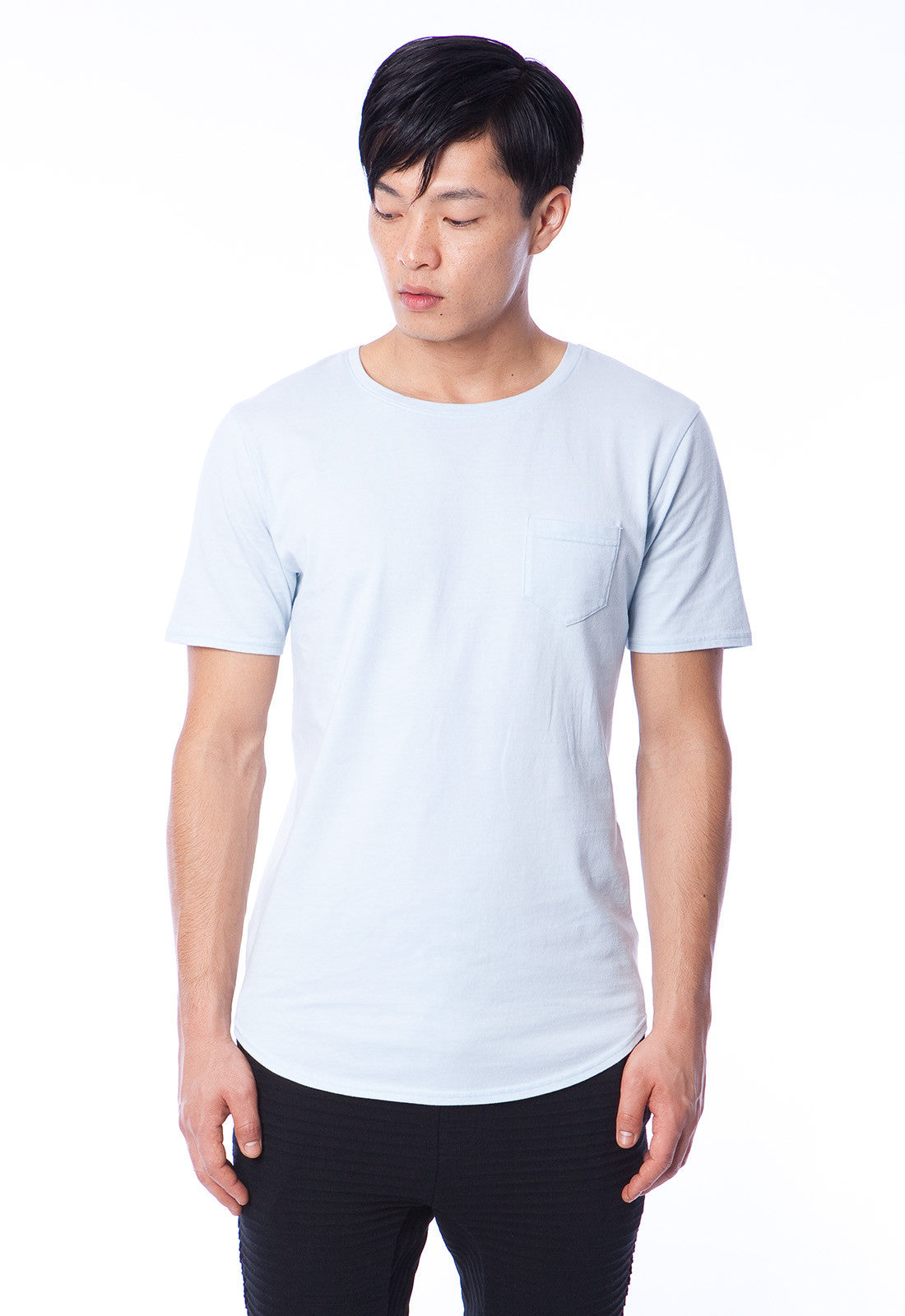 BOYD - T-SHIRT - WASHED INDIGO