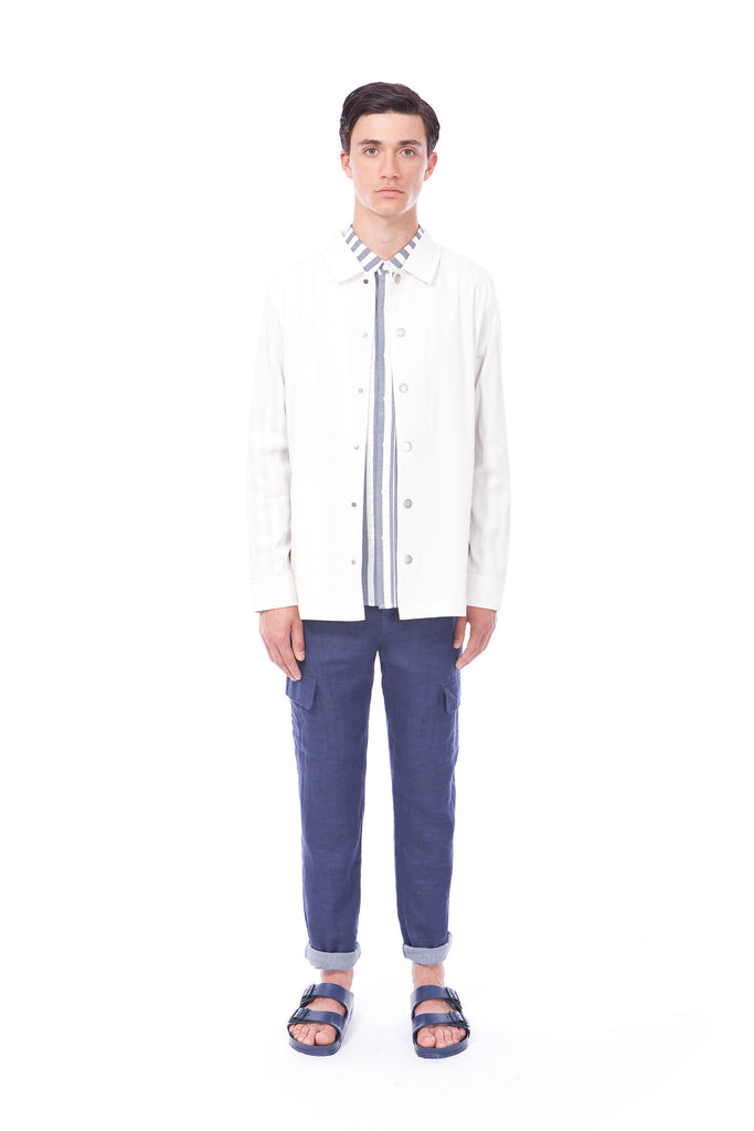 SHAFER - JACKET - WHITE