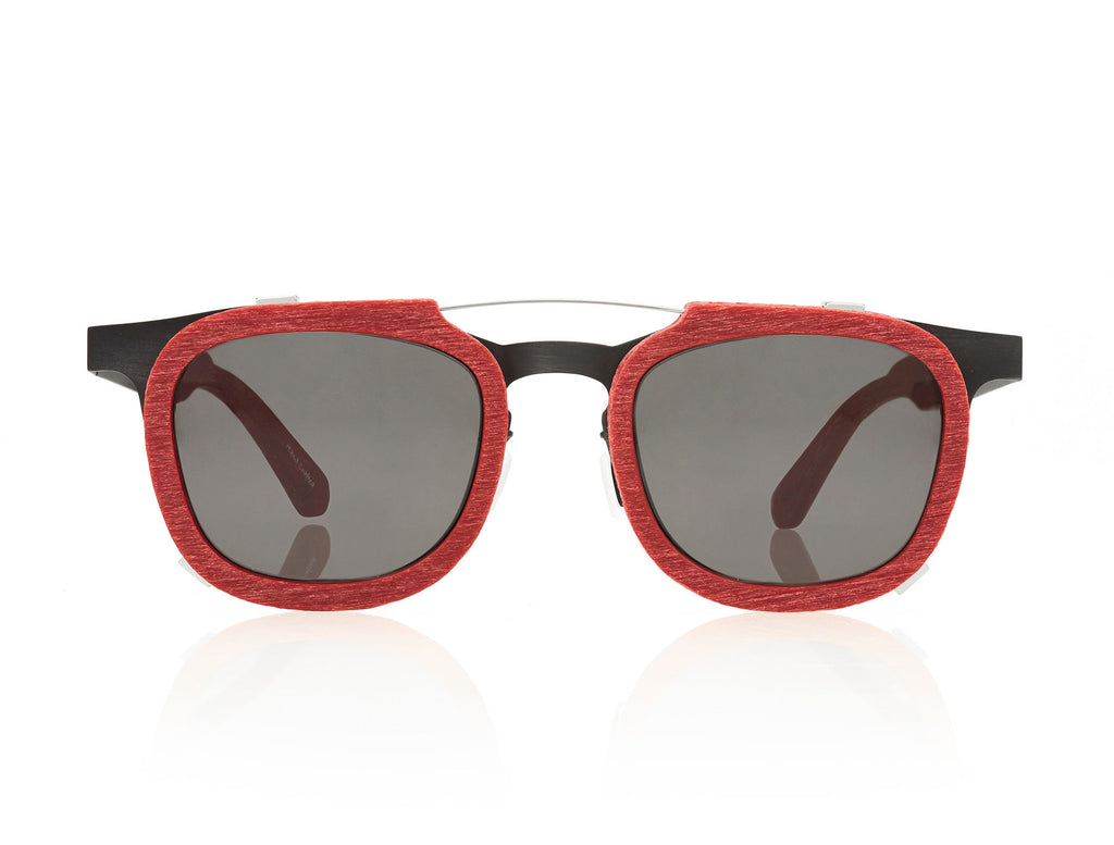 FRANCO - GLASSES - CINNABAR RED