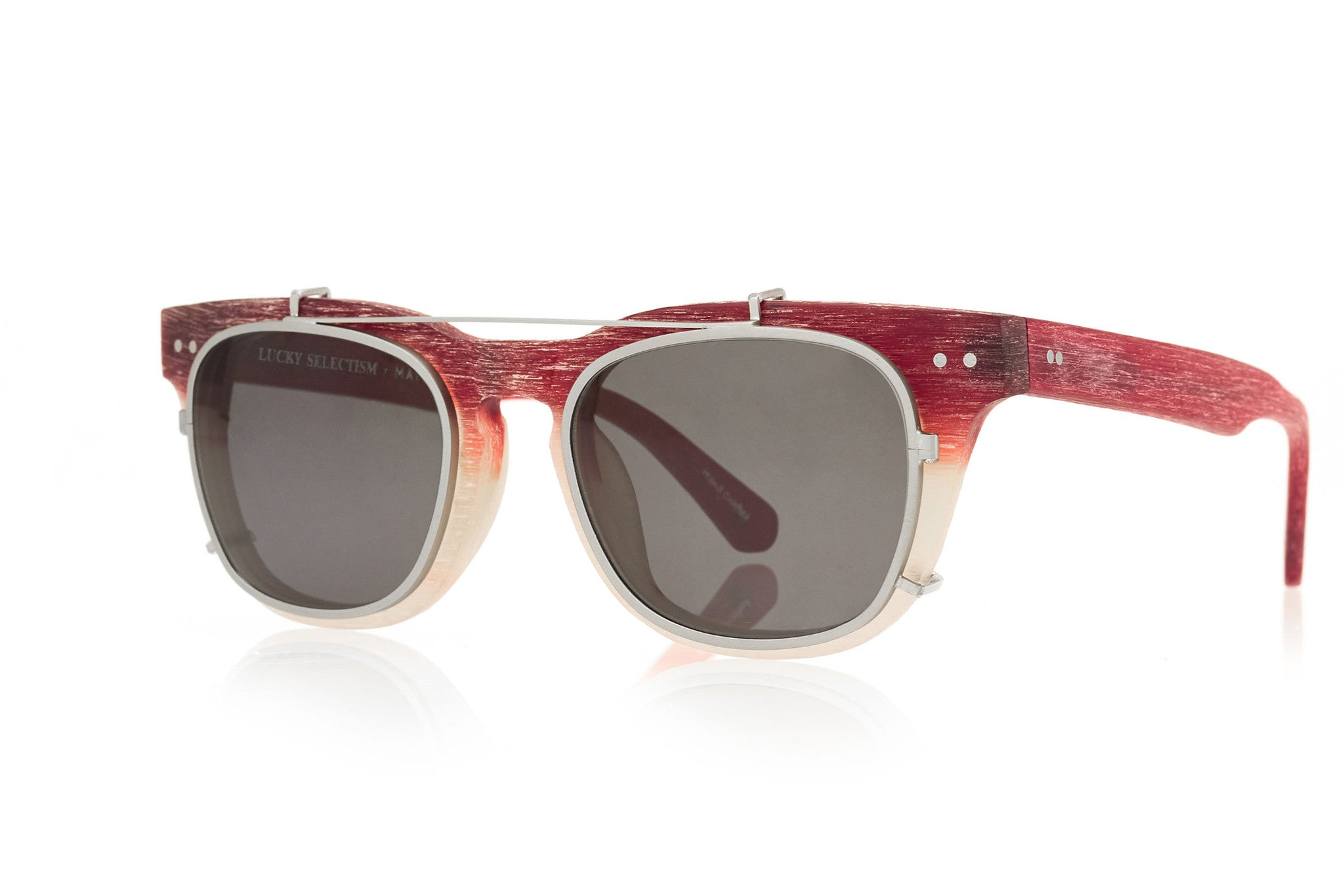 IVE - GLASSES - CINNABAR RED