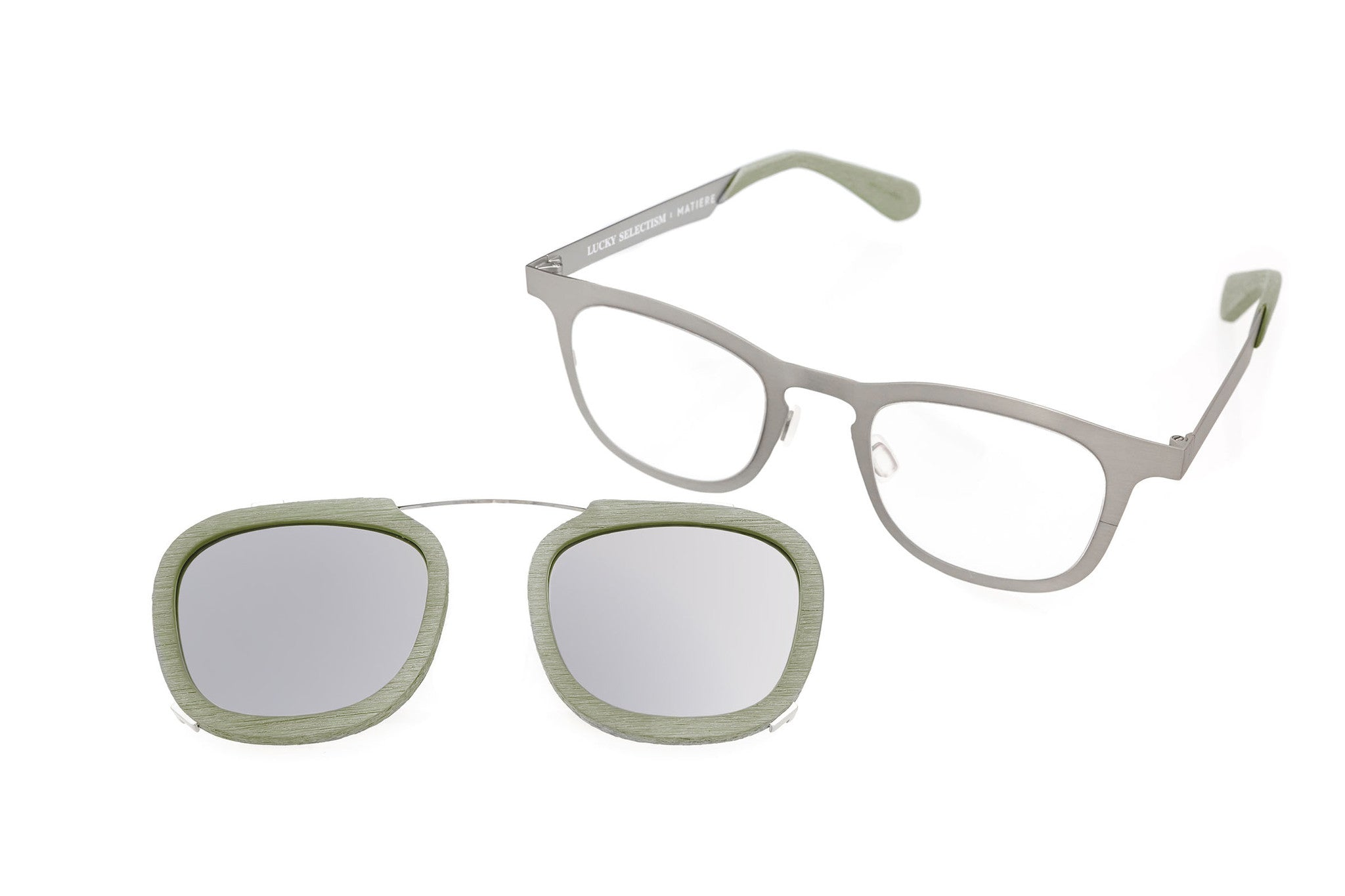 FRANCO - GLASSES - LILY PAD GREEN